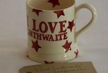 Linthwaite Sells... / We sell a range of unique and personalised Linthwaite items. Visit our online shop: http://www.linthwaite.com/shop/view/ / by Linthwaite House