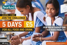 Live Below The Line / When trying to eat for a little as possible, sharing food and budgets is a good tactic! Why not join Live Below The Line as a family or house mates? Visit www.tearfund.org/livebelow to find out more. / by Tearfund