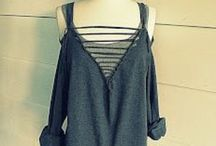 DIY - Clothing & Accessories / Ideas to reuse, recycle and make my own clothes and  wearable accessories / by N .