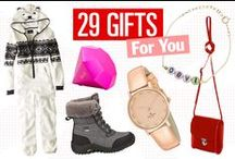 Holiday Gift Ideas / Perfect holiday gift ideas for teens, girls, moms, dads, BFFs, and more. / by Seventeen Magazine