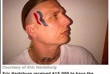 worst tattoos ever.  / by Mot Lau