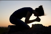✞ On My Knees ✞ / Begin and end the day with God - in prayer! / by ~✿ Deb ✿~