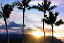 """Kauai Love / Find Your Aloha in Kauai. With its lush mountainous landscapes, """"The Garden Island"""" offers exceptional outdoor activities, classic Hawaiian atmosphere and stunning natural beauty. / by Expedia"""