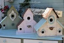 BIRDHOUSES I BUILD / My first love is building birdhouses. Yes Yes I build them from start to finish.  / by Rita Reade