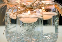 Mason Jar Mania! / I don't know what happened?! But I woke up this morning OBSESSED with Mason Jars, so here's a collection of what I love so far!  / by Expressions of You Event & Weddings Solutions