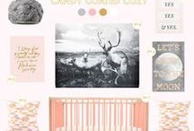 """Little G's Room Insp. / Putting together the mood board for my daughter's """"big girl"""" room.  / by Ashley Caudill"""