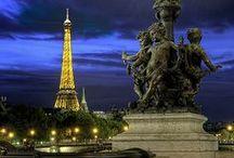 Paris by night / Legendary Parisian buildings and landmark by night. / by Le Meurice
