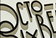 Typography / by Saranna Drury