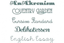 Fonts  / by Lisa Casey