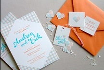 Wedding Stationery / A mix of what truly inspires us - wedding stationery! This board covers everything from invites, to menus, ceremony programs and other printed items.  / by Ruby + Swallow
