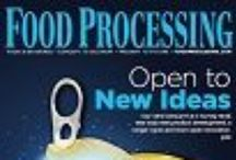 Food Processing Covers / Fun, fresh and interesting covers from Food Processing magazine / by Food Processing