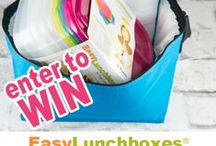 Giveaways / Win something wonderful! Always check the END DATE when clicking on these contests. Start at the top left of the page. Older pins are probably of contests that are already closed but I'm leaving them up so you can discover some fun products :) / by EasyLunchboxes