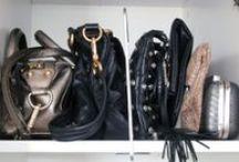 Bag Storage / Good alternatives to chucking your bag on the floor / by Stylebook App: Closet Organizer