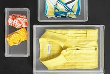 Divide and Conquer / Dividing up your drawers makes them easier to use and less work to maintain / by Stylebook App: Closet Organizer