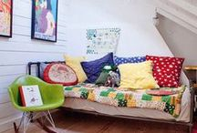 Attic bedrooms / by Jennifer Sawyer