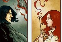 Harry Potter stuff.... / by Laura Poe