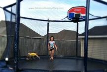 TRAMPOLINES / Backyard trampolines by JumpSport offered through our site and by dealers throughout the US! AlleyOop Sports, JumpSport Elite, & JumpSport are our three product lines. :)  / by JumpSport Trampolines