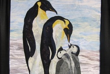 "because Penguins MUST have their own ""Quilt Board!"" / by Alicia Booth"