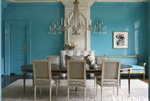 Divine Dining Areas / by Holly Phillips @ The English Room