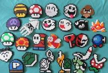 Perler/ cross stitch patterns and ideas  / by Tracy