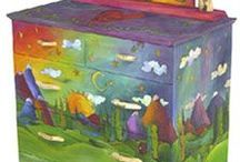 Painted furniture / by Chris Cantrelle