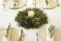 Beautiful Tables / Tablescapes & Decorating with Dishes / by Lemony Thyme