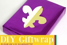 Gift Wrap Ideas / Half the fun of a gift is the pretty presentation. Here is our inspiration for creating memorable gift wrap. / by Mardi Gras Outlet