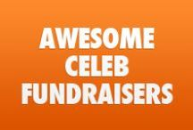 Awesome Celeb Fundraisers / by CrowdRise