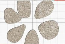 DIY Carpet Stencils / Vecco has lots of stencils for limitless design possibilities to paint your DIY carpet designs. You can also cut custom stencils and patterns for a look you can truly call your own! / by Vecco