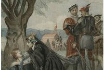 Henry VI: Parts 1, 2, and 3 / To celebrate William Shakespeare's 450th birthday, we are sharing images and quotes from all 38 of his plays throughout April. Interested in reading the plays for free online in a searchable, mobile-friendly format? Go to folgerdigitaltexts.org  / by Folger Shakespeare Library