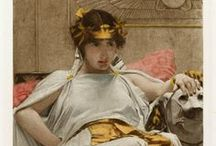Antony and Cleopatra / To celebrate William Shakespeare's 450th birthday, we are sharing images and quotes from all 38 of his plays throughout April. Interested in reading the plays for free online in a searchable, mobile-friendly format? Go to folgerdigitaltexts.org  / by Folger Shakespeare Library