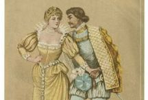Much Ado About Nothing / To celebrate William Shakespeare's 450th birthday, we are sharing images and quotes from all 38 of his plays throughout April. Interested in reading the plays for free online in a searchable, mobile-friendly format? Go to folgerdigitaltexts.org  / by Folger Shakespeare Library