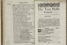 The Two Noble Kinsmen / To celebrate William Shakespeare's 450th birthday, we are sharing images and quotes from all 38 of his plays throughout April. Interested in reading the plays for free online in a searchable, mobile-friendly format? Go to folgerdigitaltexts.org  / by Folger Shakespeare Library