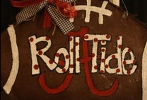 Roll Tide Roll!! / by Mollie Bosworth