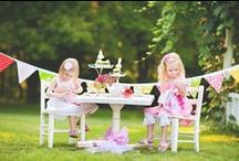{ children party ideas } / by Lucy supergoldenbakes