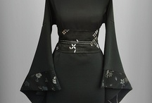 modern japan fashion / kimono | haori | obi | kimori / by Cristina Astriaha Soddu