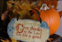 """Thanksgiving ~ Fall / Yummy recipes for my favorite time of the year, decorating ideas, beautiful tablescapes for your Fall and Thanksgiving table, as well as, crafts and snack ideas for kids to help teach them about being thankful.   For my pumpkin recipes, please check out my, """"It's The GREAT PUMPKIN Recipes"""" board.                 #So thankful that I live in a world that I can celebrate AUTUMN !  For beautiful glimpses of God's handiwork during my favorite time of the year check out my board AUTUMN SPLENDOR. / by Sonya Snyder"""