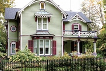 Victorian Homes / by Maureen Potter Androff