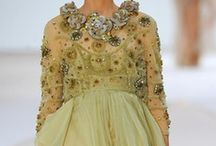 Fashion - Gowns and Haute Couture / Can't  afford it, and can't fit into it, but I love it all the same! / by Judith Margiotta
