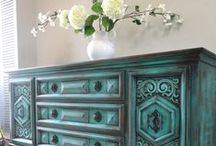 painted furniture / by Kiley Ledlow