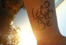Tattoos / by TerryLynn Melody