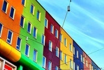 Colorful Structures / by Brandy Mirly