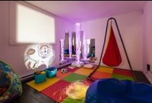Make Your Own Sensory Room / If you have a spare room, basement or even garage with extra space why not create a sensory motor integration (SMI) room for your blind or visually impaired child? / by WonderBaby Resources for Parents of Blind Kids