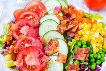 Salads / by Lori-Ann Peach