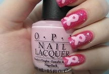 Pink Nails For October / A fun way to show your support for breast cancer! / by Life Love Shopping TV