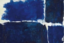 Ma période bleue / Le bleu accède au rang de couleur divine, en symbolisant la fidélité, la chasteté, la loyauté, la justice et la foi. / by Sylvie Robichaud