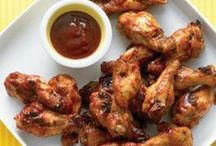 Poultry, Chicken Wing Recipes / I have had a long-time relationship with chicken wings / by Diane Willis
