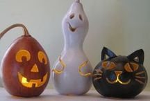 Crafts, Painted Holiday Gourds / by Diane Willis