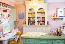 craft room / by Tammy Cooper