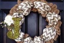 DIY-Wreaths / by Tammy Cooper